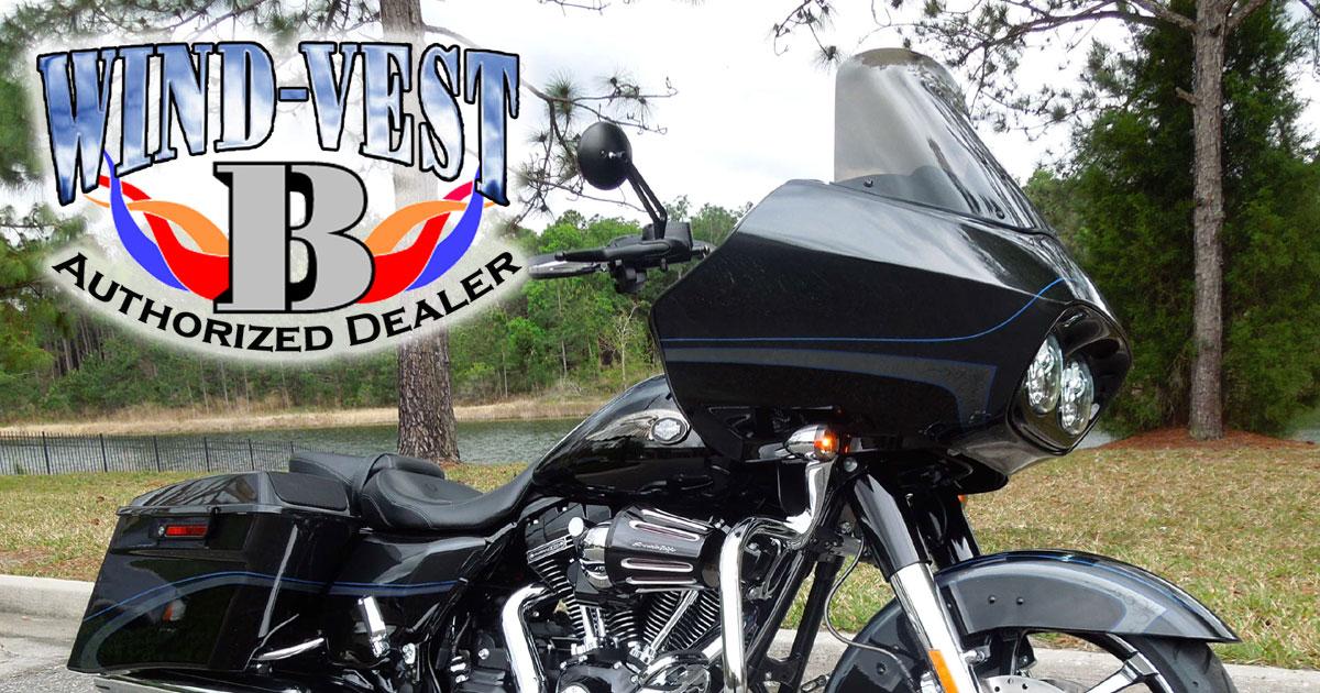 WindVest For 1998 to 2013 Harley Davidson Road Glide
