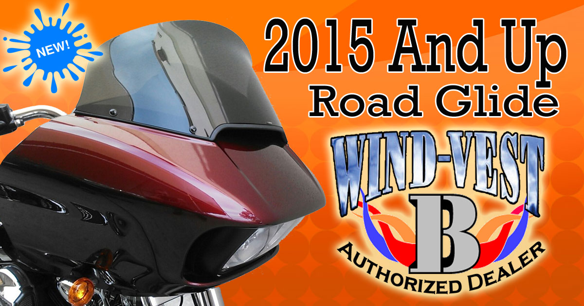 New 2015 Harley Davidson Road Glide Wind Vest